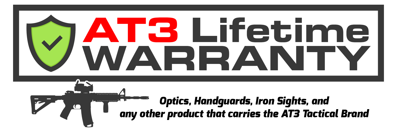 AT3 Lifetime Warranty Logo