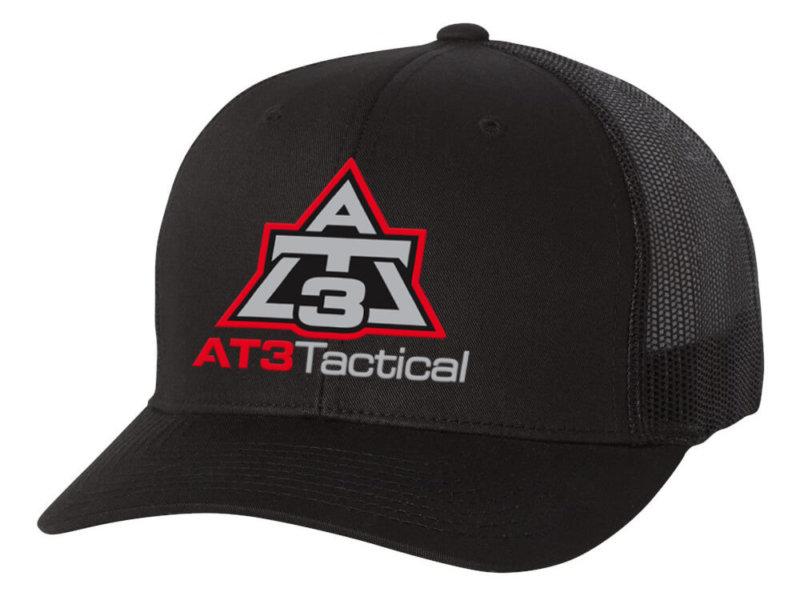 AT3 Tactical Trucker Cap in Black