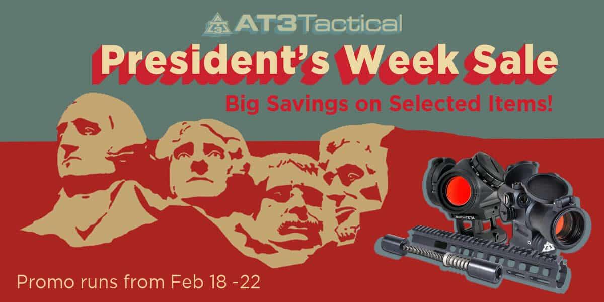 Presidents Week Sale 2019
