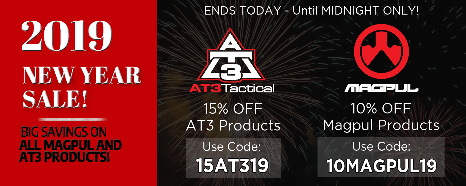 Last Chance to AT3 New Year Sale 2019