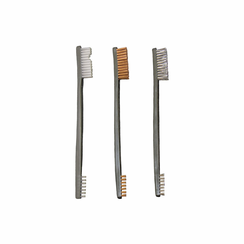 Otis All Purpose Cleaning Brushes - Nylon and Bronze - AT3 Tactical