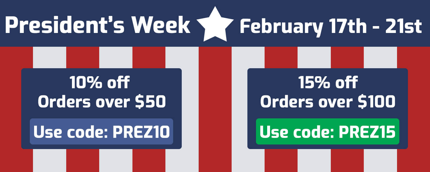 Sale is on February 17th thru the 21st