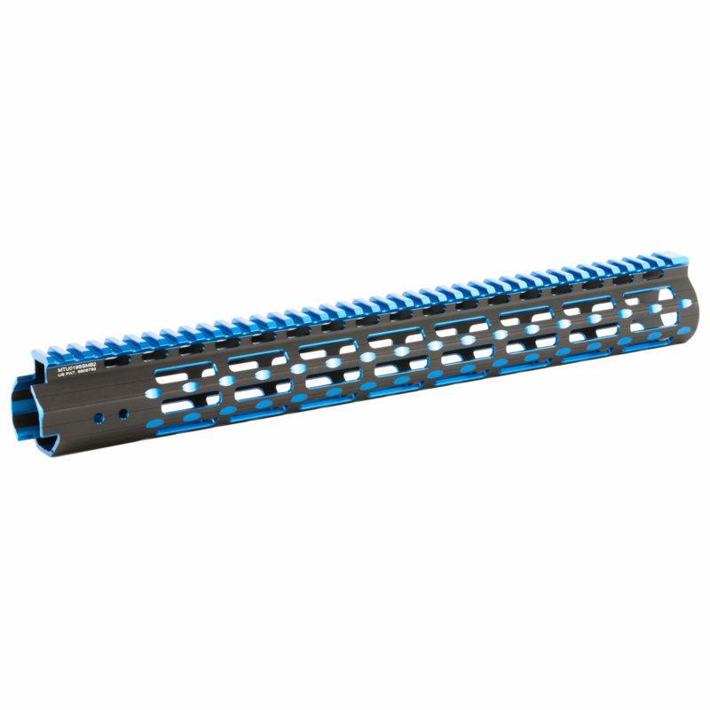 UTG Pro Super Slim 2 Tone Free Float M-LOK Rail - AT3 Tactical