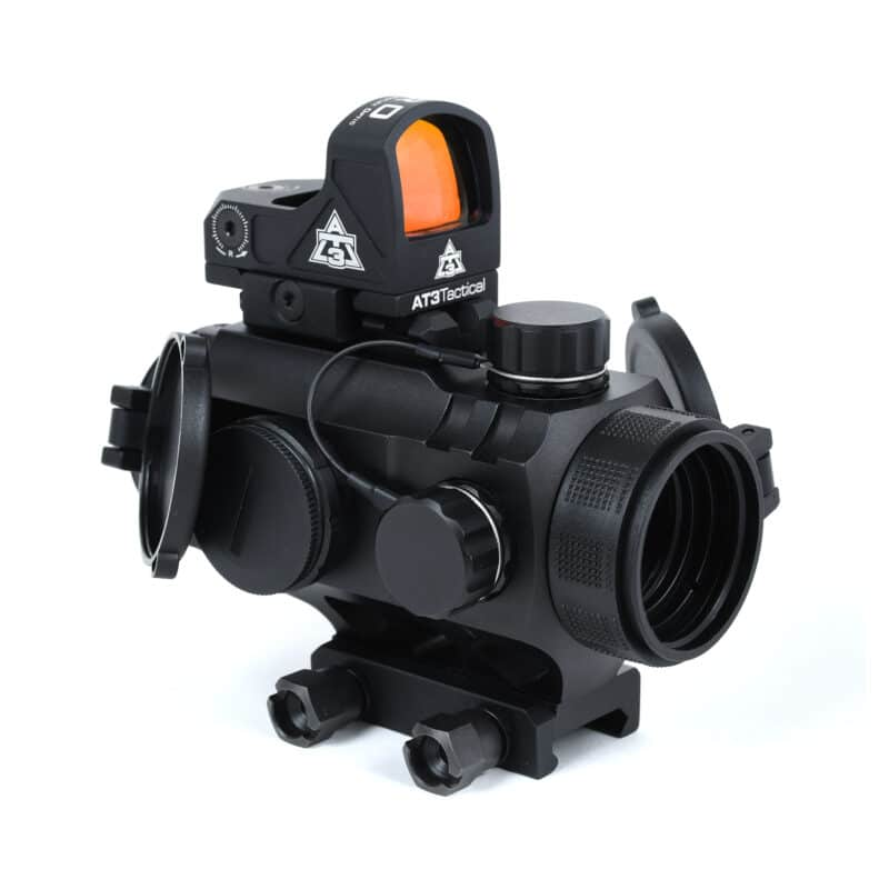 AT3™ 3XP + ARO Combo - Includes 3x Prism Scope & Micro Red Dot Reflex Sight
