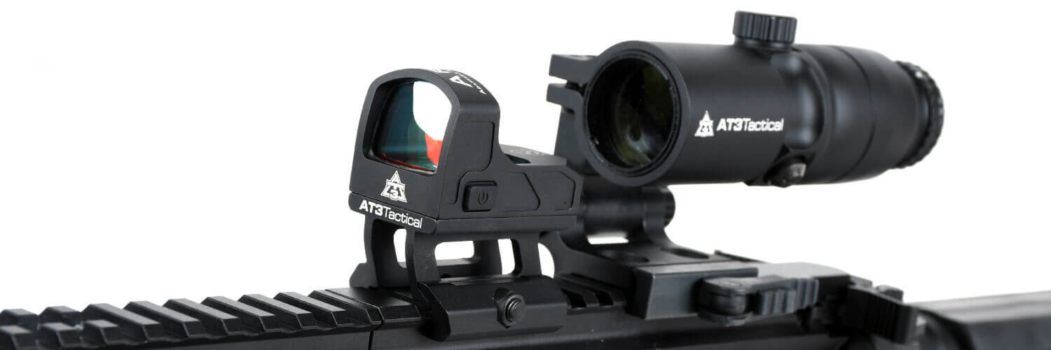 at3 4xrdm and aro red dot sight