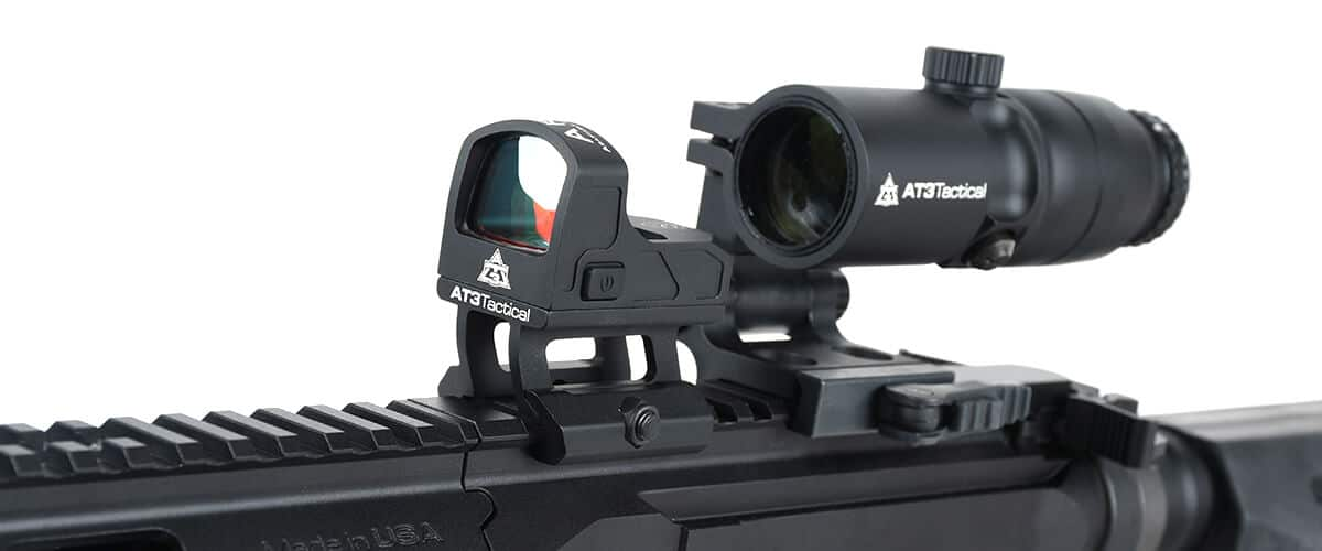 AT3 ARO Micro Red Dot with 4xRDM Red Dot Magnifier