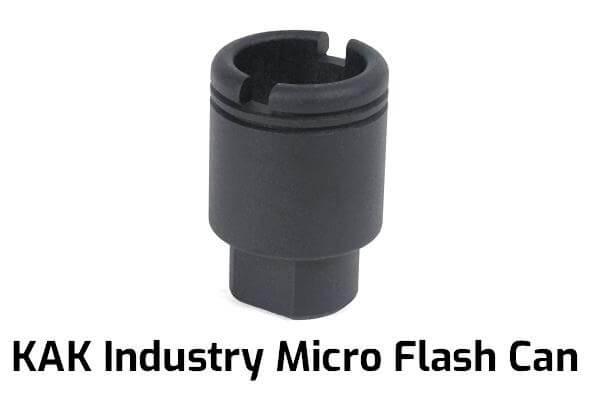 KAK Industry Micro Flash Can, 1/2-28 Thread