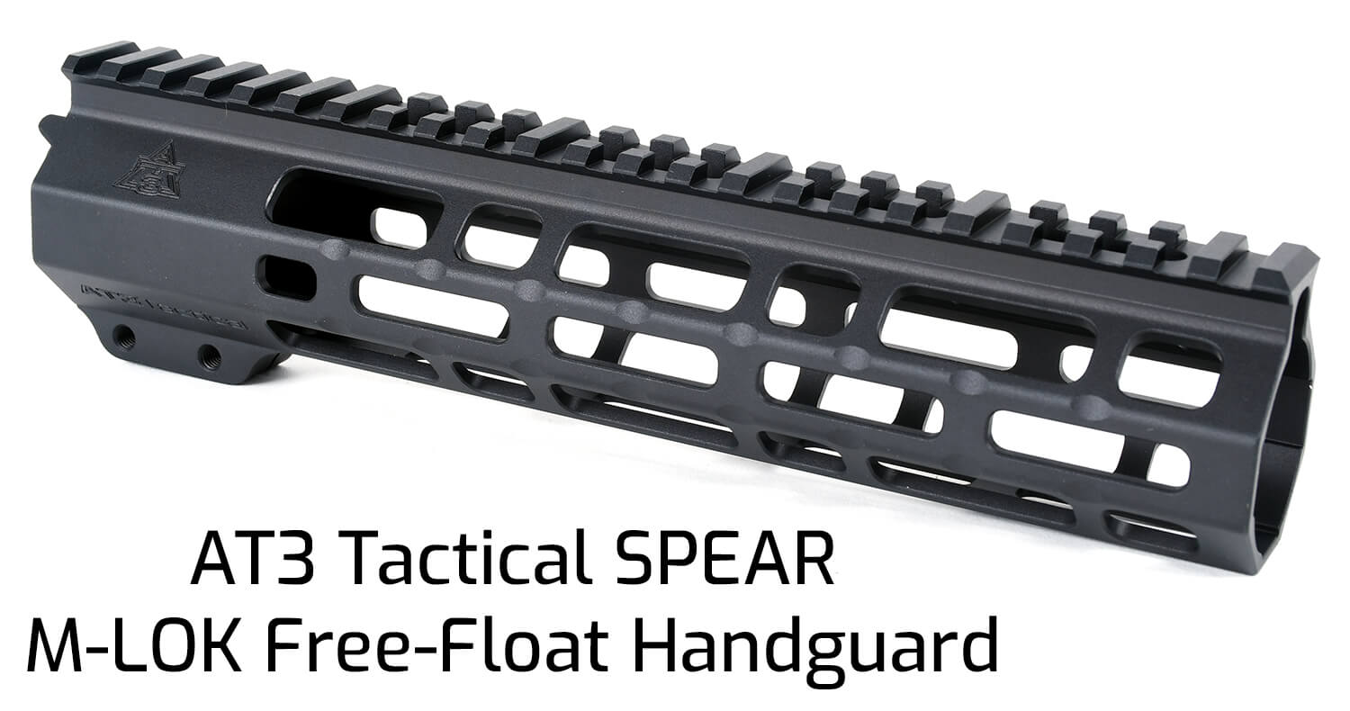AT3 Tactical SPEAR M-LOK Handguard 9 Inch Length