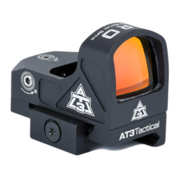 AT3 ARO Micro Red Dot Sight with Low Riser Mount