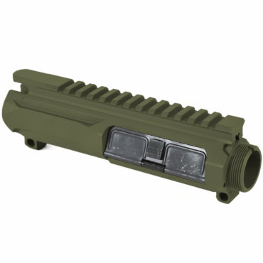 AT3 Tactical Slick Side Billet Upper Reciever - OD Green