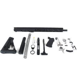 AT3 Tactical Rifle Kit with Lightweight Ballistic Advantage Barrel Black