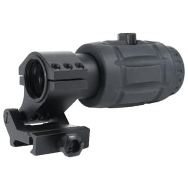 AT3 Red Dot Magnifier w/ 3x Flip to Side Mount