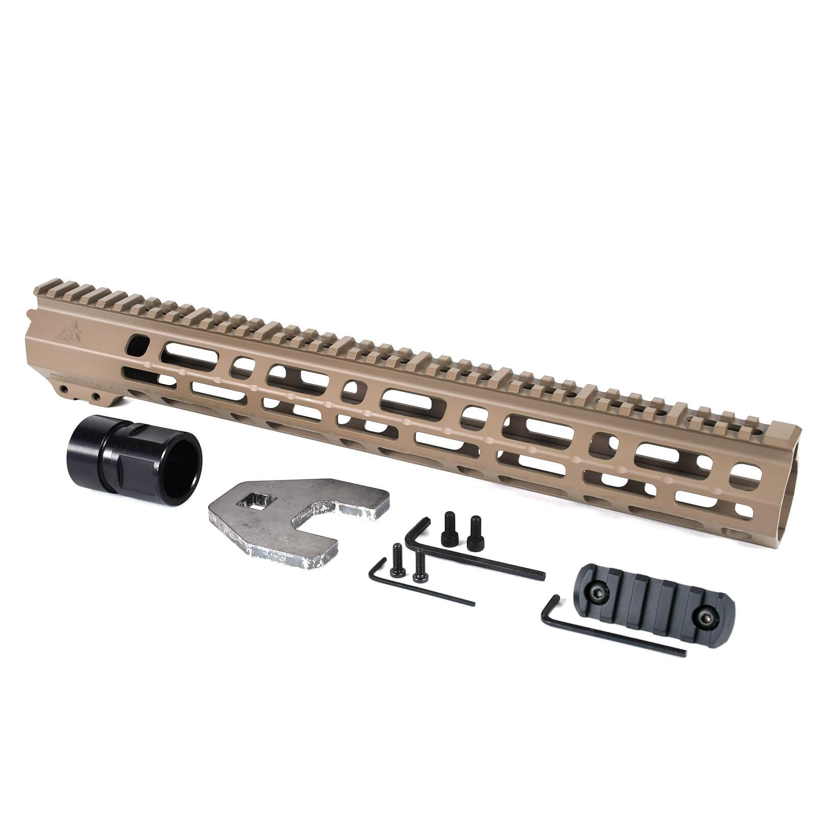 GOODTAC Precision Aluminum M-LOK Handguard Picatinney Rail 7Slots