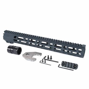 Open Box Return-Gray-AT3 M Lok Handgaurd Spear M-Lok for AR-15 15inch