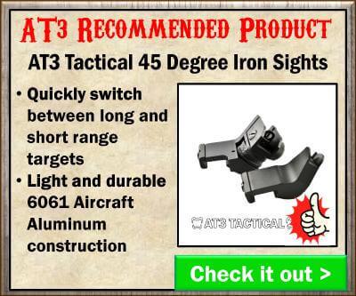 AT3 45 Degree Iron Sights