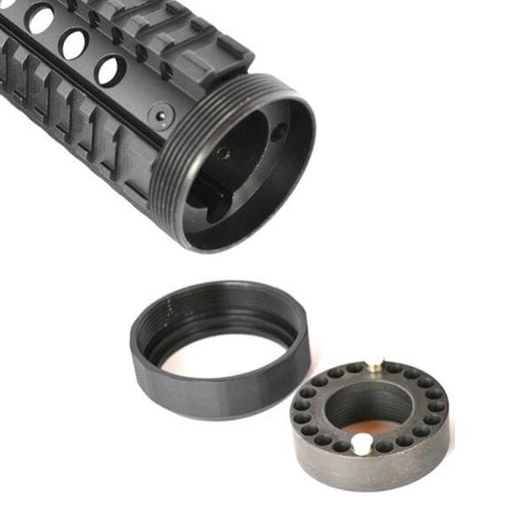 AR 15 Handguard - AT3 Free Float Quad Rail Parts Grande