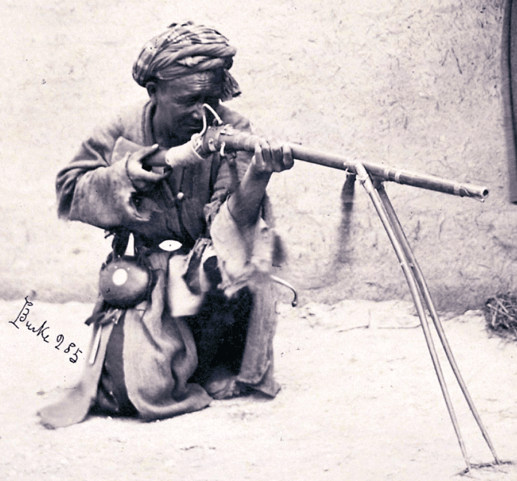 Bipod on Jezail Rifle