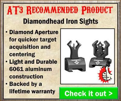 Diamondhead AR 15 Iron Sights