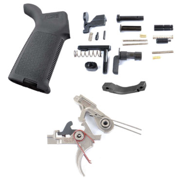 AT3™ 2-Stage Lower Parts Kit with 1005 Tactical Nickel Boron Trigger and Magpul MOE Grip