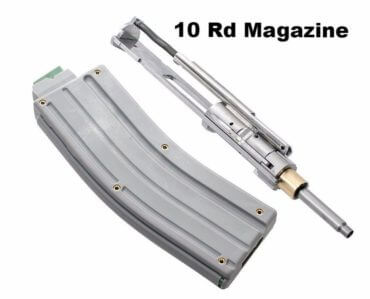 CMMG AR-15 .22 LR Stainless Steel Conversion Kit + One 10 Round Magazine - Bravo Series