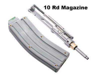 CMMG AR-15 .22 LR Stainless Steel Conversion Kit + One 10 Round Magazine - Bravo Series