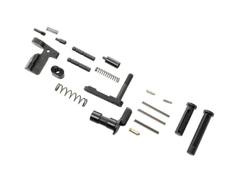 CMMG .308 GunBuilder Lower Receiver Parts Kit- No Grip or Fire Control Group