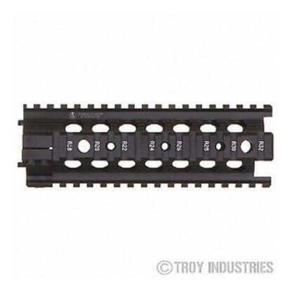 Troy MRF AR-15 Battle Rail - Free Float Quad Rail Handguard
