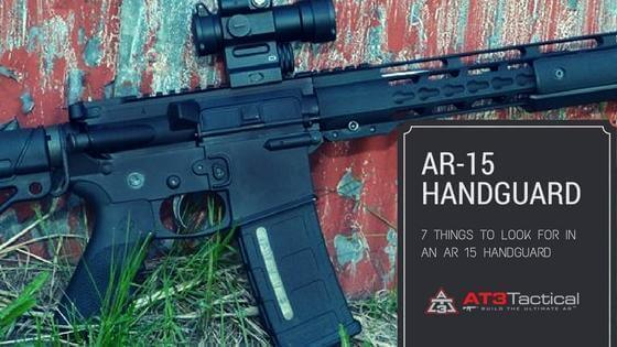 AR 15 Handguard Types & Free Float