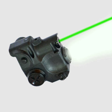 OPEN BOX RETURN AT3 Subcompact Green Laser Light Combo with LED Flashlight CLL-01