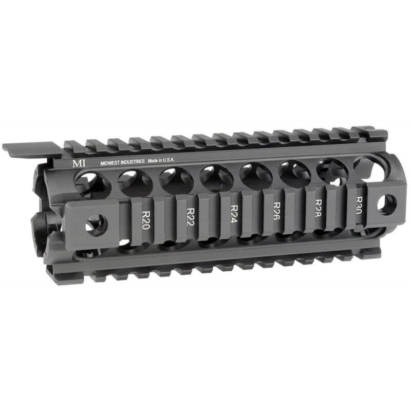 MI AR-15 Gen2 Two Piece Drop-In Quad Rail Handguard