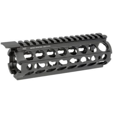 "MI 7"" AR-15 K-Series KeyMod Two Piece Drop-In Handguard - Carbine Length"