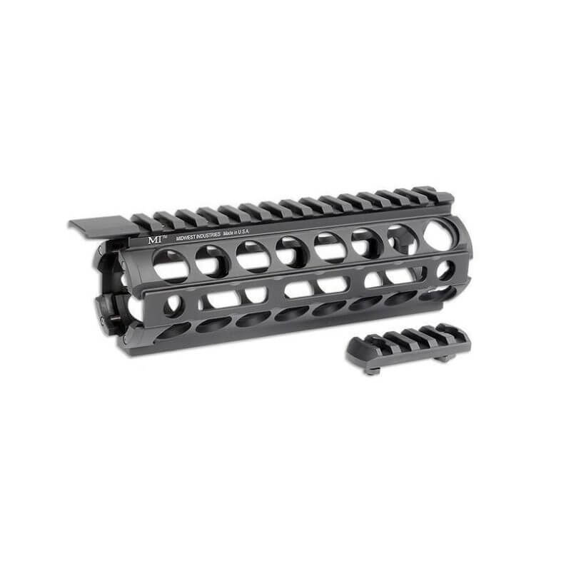 "MI 7"" AR-15 M-Series M-LOK Two Piece Drop-In Handguard - Carbine Length"