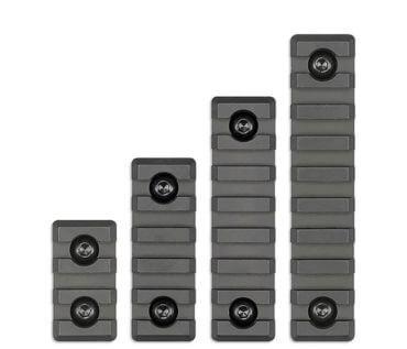 MI M-LOK Picatinny Rail Rail Sections - 3, 5, 7, or 9 Slot Size