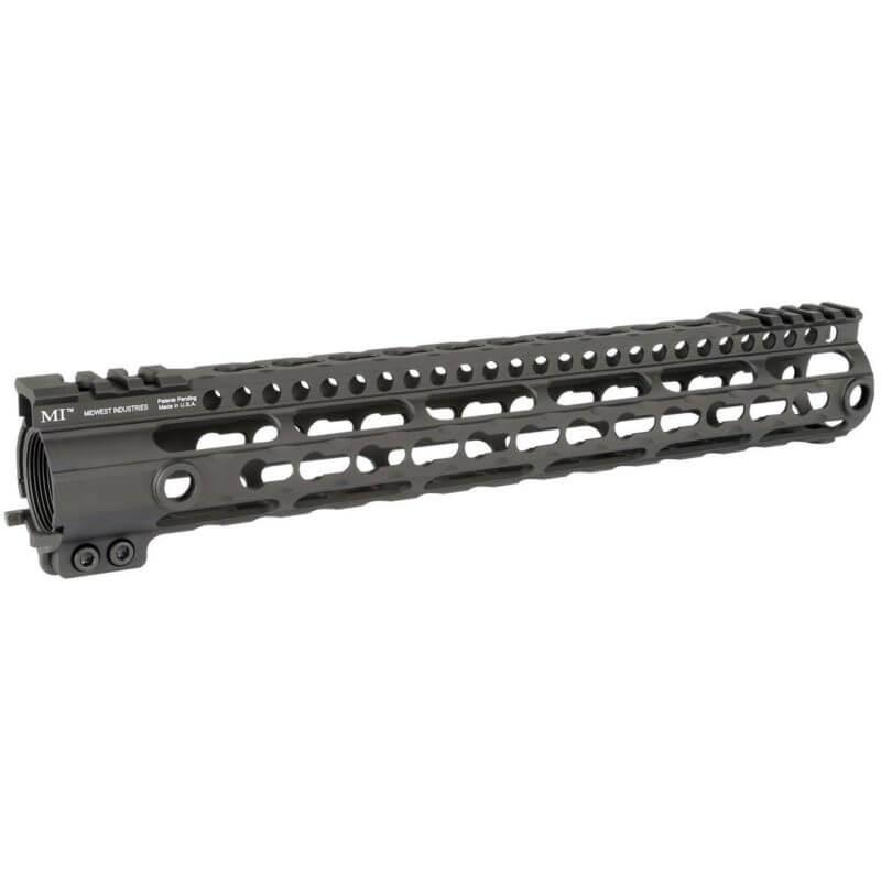 """MI 12.6"""" AR-15 Gen3 Lightweight Free Float Handguard - KeyMod"""