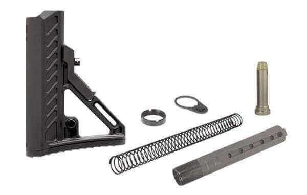 UTG PRO S2 Mil-Spec Buttstock Kit - All Parts Included - Buffer, Tube, Springs, & More