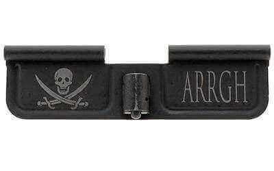 "Spike's Ejection Port Door Part Black ""Pirarte & Arrgh"" Engraving SED7003"