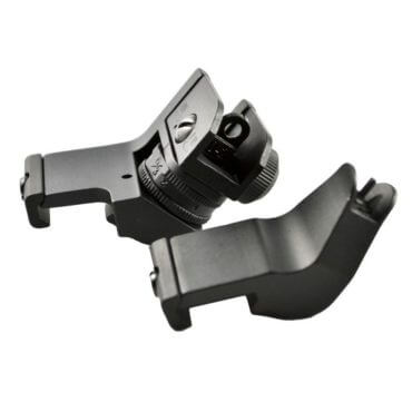 AT3™ 45 Degree Offset AR 15 Back Up Iron Sights - Rapid Transition BUIS