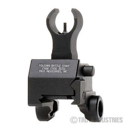 Troy Front Sight - Folding - Gas Block Height - HK Style - Optional Tritium