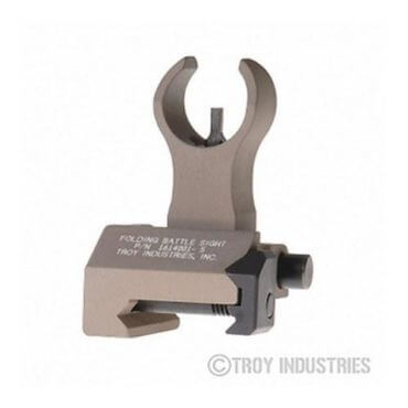Troy Front Sight - HK Style - Folding (Flip-up) - Optional Tritium Illumination
