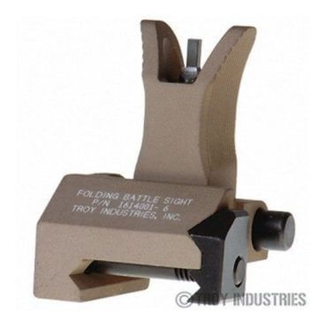 Troy Front Sight - M4 Style - Folding (Flip-up) - Optional Tritium Illumination