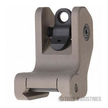 Troy Rear Battle Sight Black, Fixed