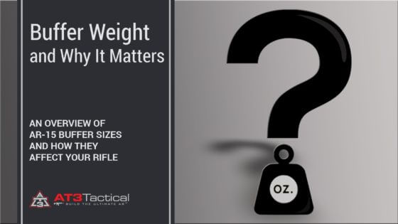 AR-15 Buffer Weight (and Why It Matters)