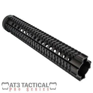 "BLEMISHED - AT3 Tactical 12.5"" Rifle-Length Free Float Quad Rail Handguard - Pro Series"
