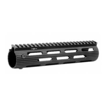 "OPEN BOX RETURN Troy VTAC Alpha Rail 9"" - BLACK- Free Float Handguard"