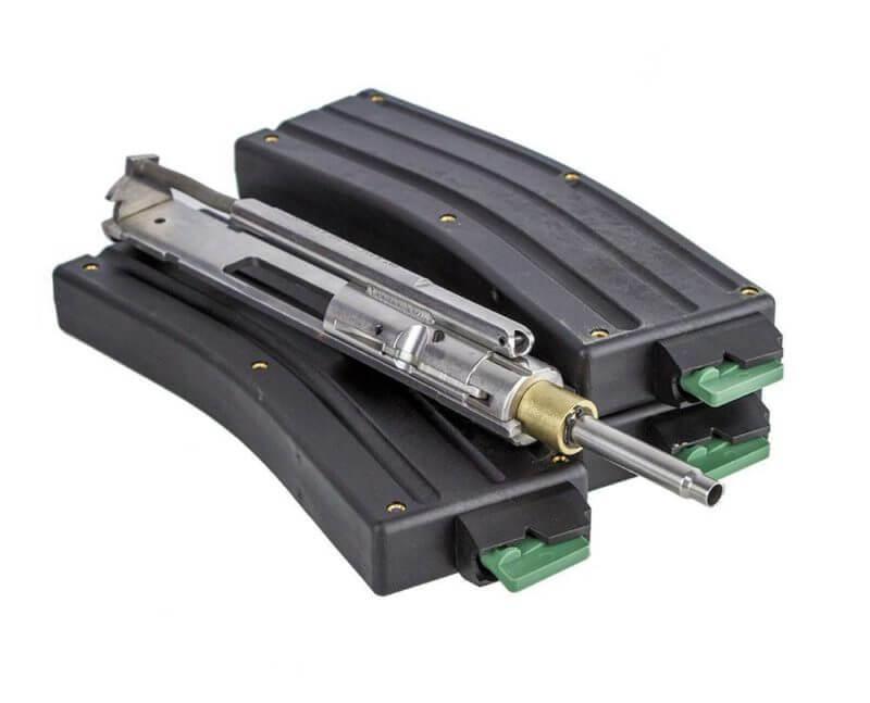 CMMG AR-15 .22 LR Stainless Steel Conversion Kit + Three 25 Round Magazines - Bravo Series