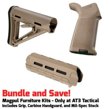 Magpul MOE M-LOK Furniture Kit - Stock, Carbine Handguard & Grip