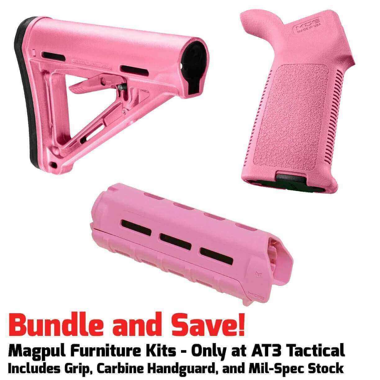 Magpul MOE M-LOK Furniture Kit - Stock, Carbine Handguard & Grip