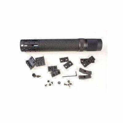 Hogue Rifle Length AR-15 Free Floating Overmolded Forend with Accessory Attachments