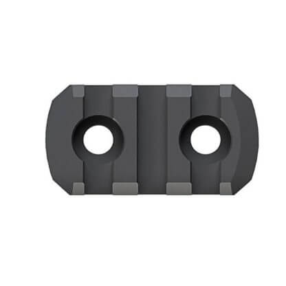 Magpul Aluminum Picatinny Rail Section for M-LOK - 4 Lengths - 3, 5, 7, or 9 Slot