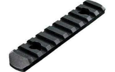 Magpul MOE Polymer Rail Sections Accessory Black 9 Slots MOE Hand Guard MAG408BLK
